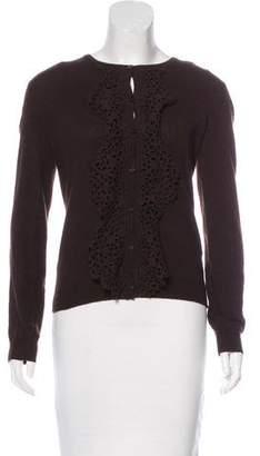 Valentino Virgin Wool & Cashmere Cardigan