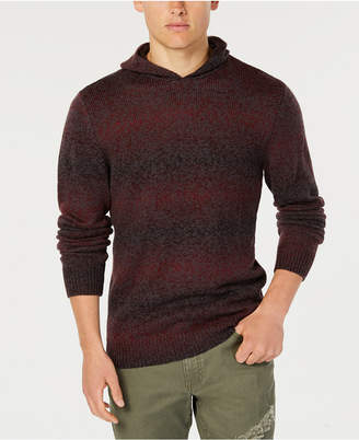 American Rag Men's Ombre-Stripe Hooded Sweater