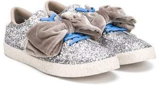 Douuod Kids TEEN glitter sneakers
