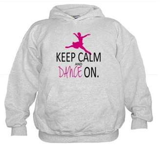 CafePress - Keep Calm And Dance On - Kids Hooded Sweatshirt, Classic Hoodie