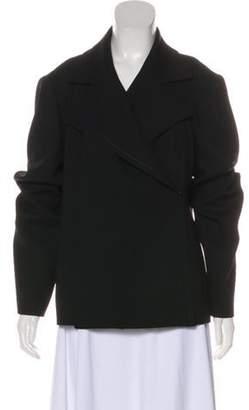 Ellen Tracy Wool Long Sleeve Jacket Black Wool Long Sleeve Jacket
