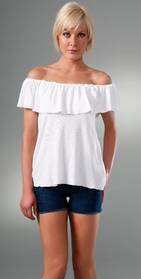 Nightcap Clothing Off Shoulder Tee