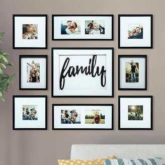 Asstd National Brand 9 Piece Family Dcor Frame Kit