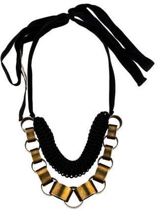 Marni Accordion Chain-Link Necklace