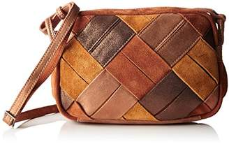 Mila Louise Odyle Safran, Women's Cross-Body Bag, Jaune (Safran), (W x H L)