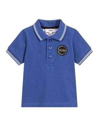 HUGO BOSS Kids New Badge Logo Polo