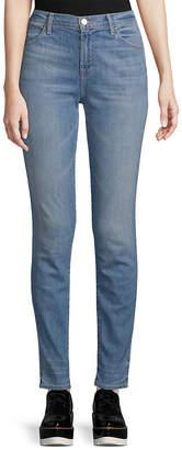 J Brand High-Rise Straight Skinny Pant