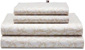 Tommy Hilfiger Novelty Print Queen Sheet Set Bedding