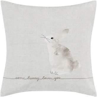 ED Ellen Degeneres Claremont Some Bunny Loves You Accent Pillow