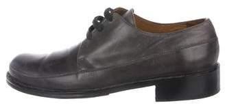 John Varvatos Leather Derby Shoes