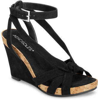 Aerosoles Fashion Plush Wedge Sandal - Women's