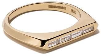 Lizzie Mandler Fine Jewelry ダイヤモンド リング 18Kイエローゴールド