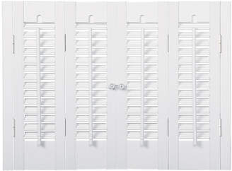 JCPenney JCP HOME Home Faux-Wood Traditional Shutters - 4 Panels