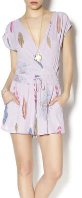 Lucy-Love Lucy Love Feather Romper