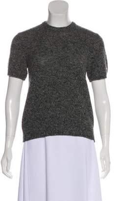 Dolce & Gabbana Short Sleeve Virgin Wool Top