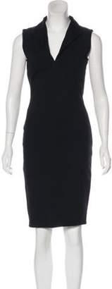 Kimberly Ovitz Sleeveless Knee-Length Dress Black Sleeveless Knee-Length Dress