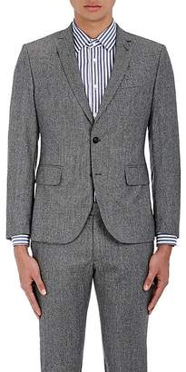 Brooklyn Tailors BROOKLYN TAILORS MEN'S MICRO-HOUNDSTOOTH WOOL TWO-BUTTON SPORTCOAT