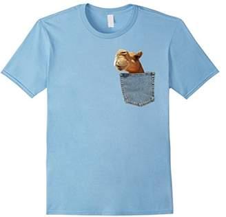 Camel in My Pocket Shirt Peeking Funny Animal Camel T Shirt