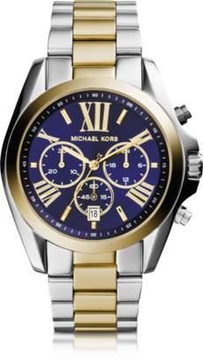 Michael Kors Bradshaw Two Tone Stainless Steel Women's Watch