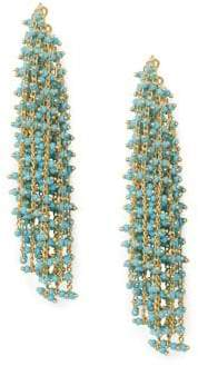 Vince Camuto Beaded Waterfall Earrings
