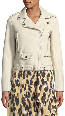 STYLEKEEPERS The Tamed Zip-Front Moto Jacket