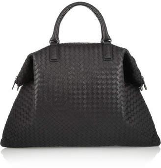 Bottega Veneta - Convertible Intrecciato Leather Tote - Black $4,050 thestylecure.com