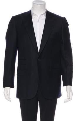 Isaia Wool One-Button Blazer