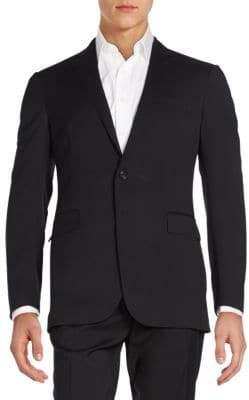 Ralph Lauren Regular-Fit Wool Serge Sportcoat