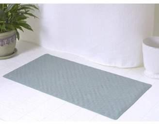 Carnation Home Fashions Medium (16'' x 28'') Slip-Resistant Rubber Bath Tub Mat in Sage