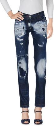 Philipp Plein Denim pants - Item 42619270KS