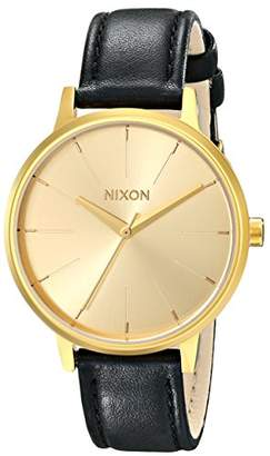 Nixon Women's A108501 Kensington Leather Watch