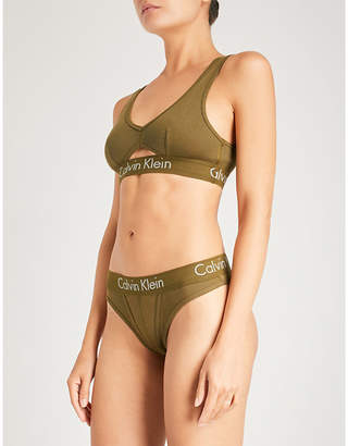 Calvin Klein Body cotton-jersey bralette