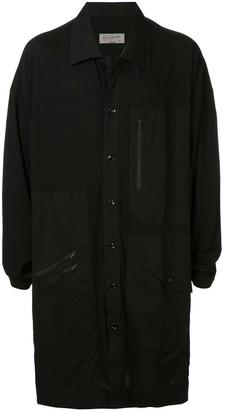 Yohji Yamamoto zip pockets shirt jacket