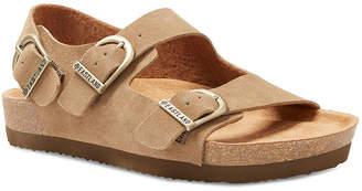 Eastland Womens Charlestown Adjustable Strap Flat Sandals
