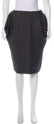 Marni Wool Knee-Length Skirt