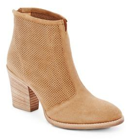Fia Perforated Suede Ankle Boots $450 thestylecure.com