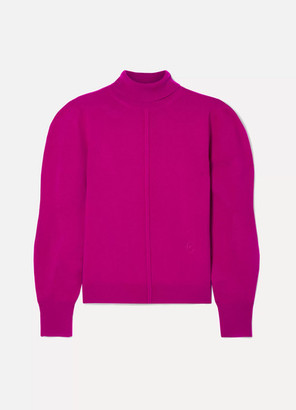 Chloé Cashmere Turtleneck Sweater - Magenta