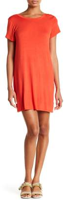 Project Social T V-Back Shift Dress