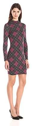Rachel Pally Women's Stella Long Sleeve Mock-Neck Printed Dress