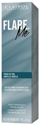 Clairol Professional Me Tough as Teal Permanent Cream Hair Color $6.49 thestylecure.com