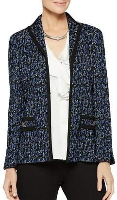 Misook Tweed & Ponte Knit Jacket