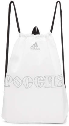 Gosha Rubchinskiy White adidas Originals Edition Drawstring Gymsack Backpack