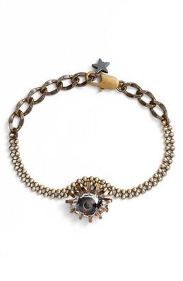 Cynthia Desser Swarovski Crystal Eye Bracelet