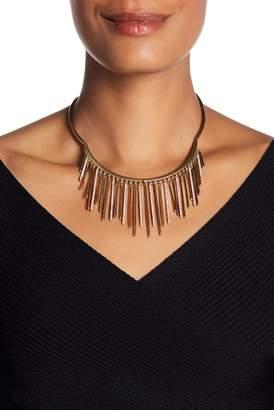 Jenny Packham Pave Crystal Fringe Frontal Collar