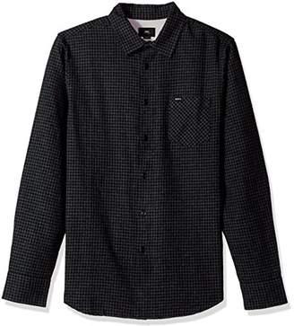 Obey Men's Outsider Long Sleeve Woven Shirt