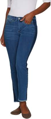 Women With Control Women with Control Regular My Wonder Denim Ankle Jeans w/ Contrast Sides