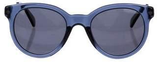 Lanvin Round Tinted Sunglasses