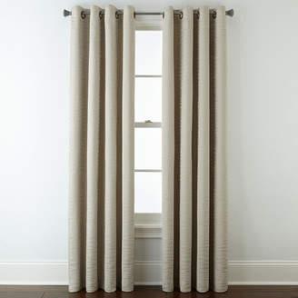 STUDIO BY JCP HOME StudioTM Arden Wave Room-Darkening Grommet-Top Curtain Panel