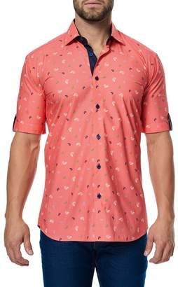 Maceoo Fresh Shell Short Sleeve Regular Fit Shirt