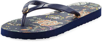 Tory Burch Thin Platform Printed Sandals